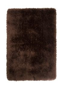 Flair Rugs Pearl chocolate shaggy rug range