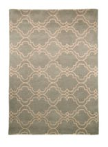 Flair Rugs Casablanca Duck Egg Rug 80X150