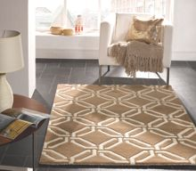 Flair Rugs Meknes beige wool pattern rug range