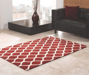 Flair Rugs Fes Red Rug Range