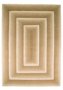 Flair Rugs Temple beige wool rug range