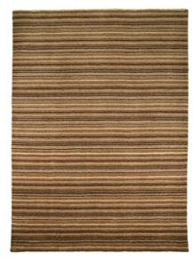 Flair Rugs Wheat brown wool rug range