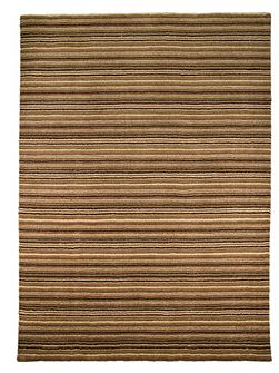 Wheat Brown/Multi Rug 120X170