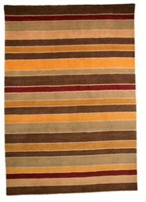 Flair Rugs Grain Natural & Red Stripe rug range