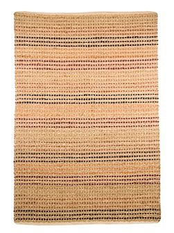 Seagrass terracotta jute runner 60x230