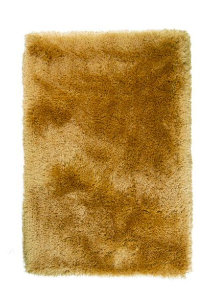 Flair Rugs Pearl Mustard Round Rug 150X150