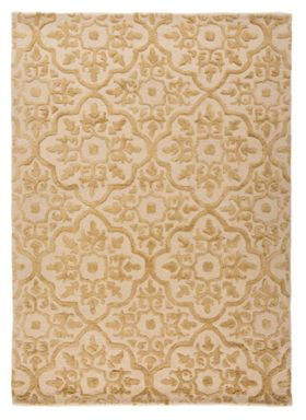Flair Rugs Knightsbridge Gold Wool Rug Range