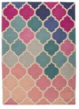 Flair Rugs Rosella pink and blue rug 160x230cm