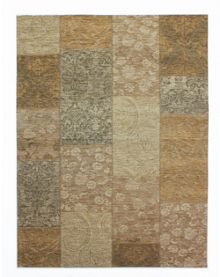 Flair Rugs Chenille Gold and Beige Rug Range