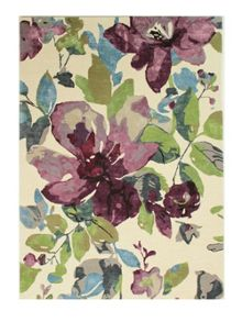 Flair Rugs Elegance bellflower purple rug range