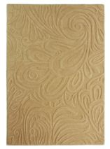 Flair Rugs Carved paisley cream rug 120x170cm