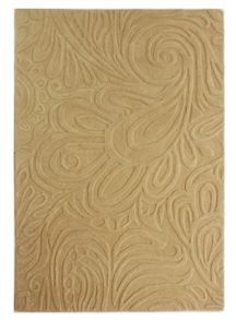 Flair Rugs Carved paisley cream rug range