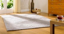 Flair Rugs Carved paisley grey rug range