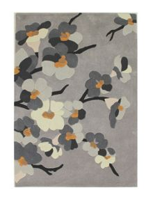 Flair Rugs Blossom grey and ochre rug range