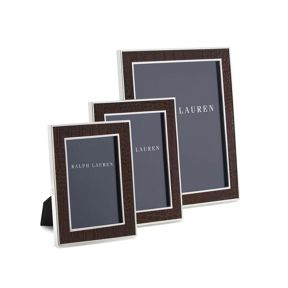 Ralph Lauren Home Chapman Brown Photo Frame Range