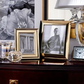 Ralph Lauren Home Cove Gold Photo Frame Range