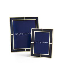 Ralph Lauren Home Classon navy photo frame range