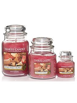 Large home sweet home housewarmer candle