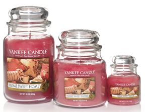 Yankee Candle Home sweet home housewarmer range