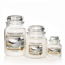 Yankee Candle Baby powder scented candles