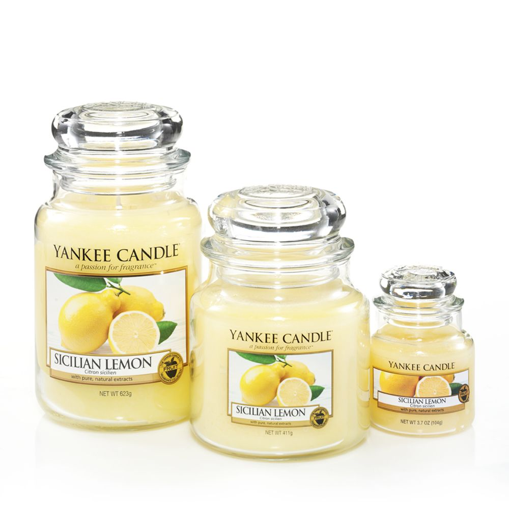 Sicilian Lemon home fragrance range