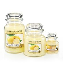 Yankee Candle Sicilian Lemon home fragrance range