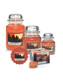Yankee Candle Amber moon fragrance collection