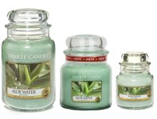 Yankee Candle Aloe Water Scented Candle Range