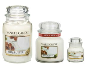 Yankee Candle Shea Butter Scented Candle Range