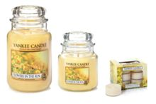 Yankee Candle Classic wax melt flowers in the sun