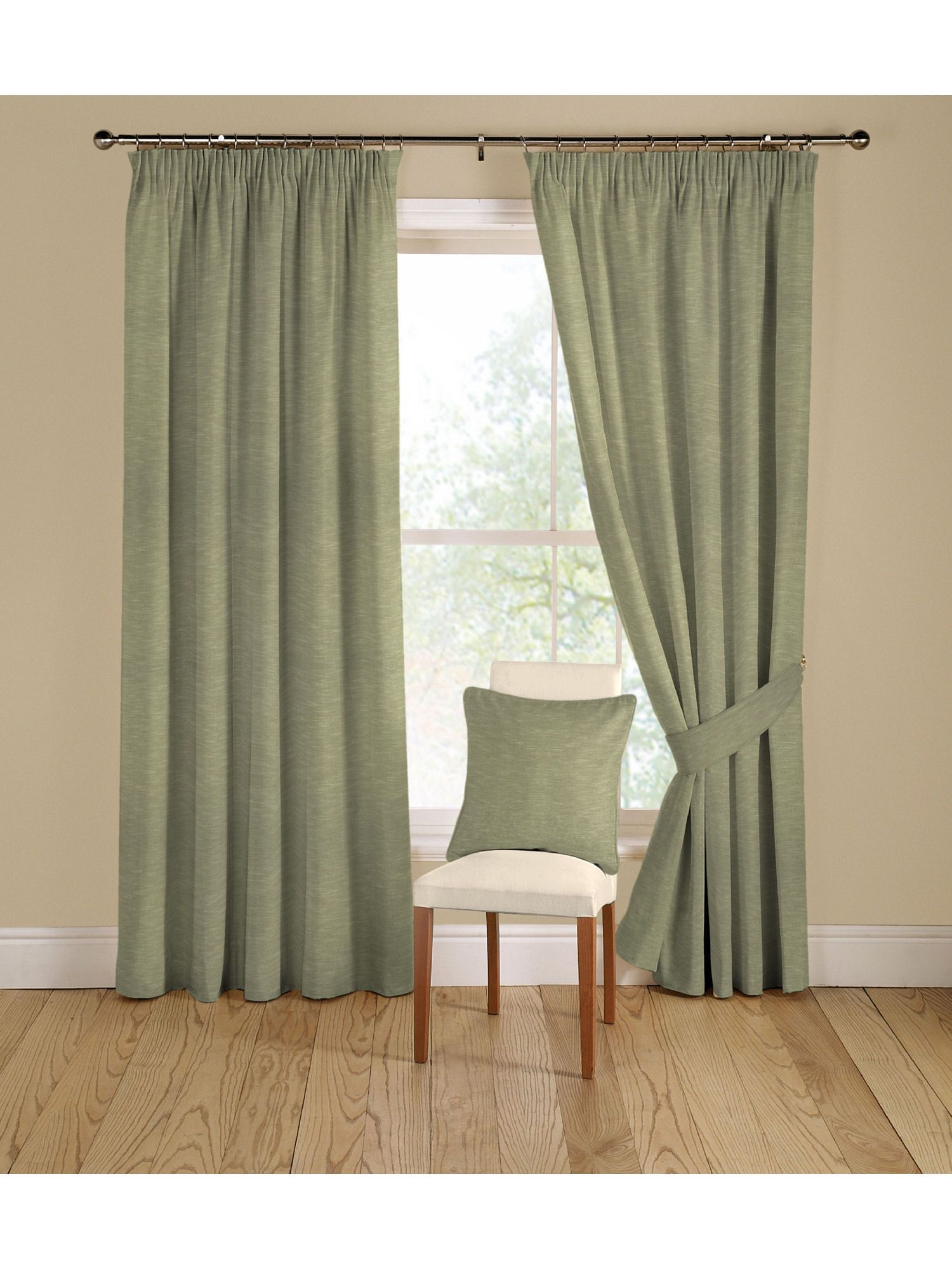 Rectella peru curtains in green