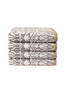 Everett bath towel range in Storm