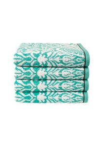 Evertett bath towel range in Pool