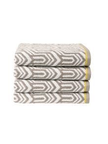 Gatsby bath towel range in storm