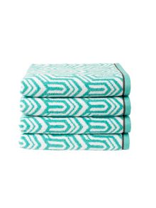 Gatsby bath towel range in Pool