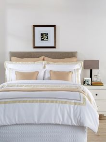 Coniston oxford pillowcase pair gold