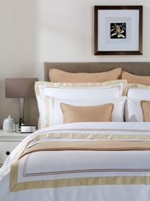 Coniston bed linen range in Gold