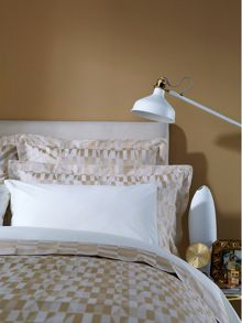 Larkin bed linen range in Gold