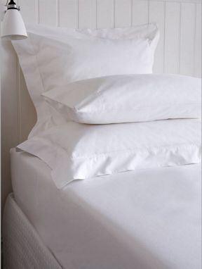Christy Coniston fitted sheet range in White