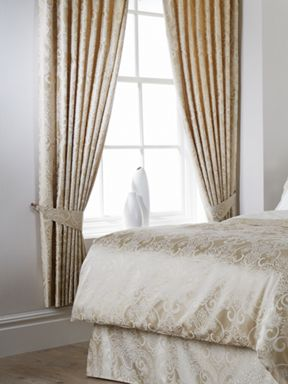 Christy Tiverton curtain range in stone
