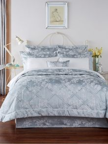 Christy Gypsy bedspread range in Soft Teal