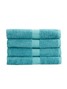 Portobello towel range in lagoon