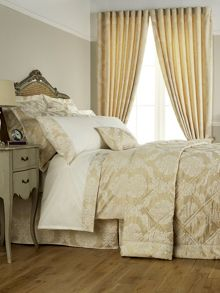Christy Romeo curtain range in gold