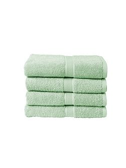 Verona Guest Towel in Aqua