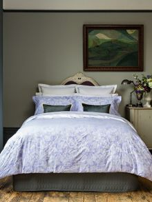 Christy Westbury oxford pillowcase pair hyacinth