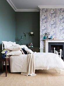 Christy Arabella bed linen range in Chalk