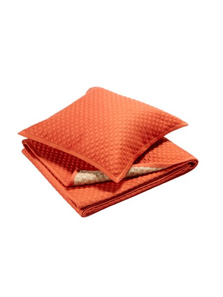 Christy Loops king size throw cinnamon