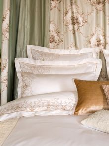 Arley bed linen range in Cream