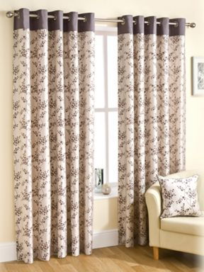 Montgomery Pewter viera curtains range