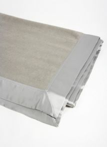 Silk blanket range in grey